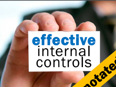 Revisiting internal controls when fraud and corruption is systemic