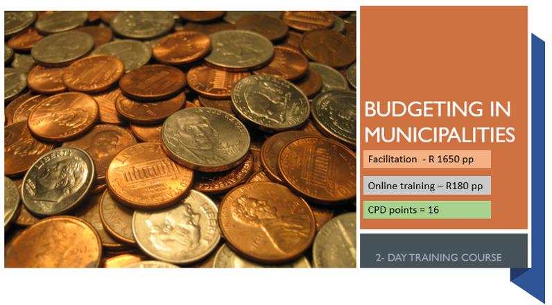 Budgeting in municipalities